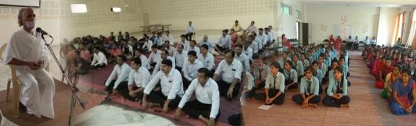 जैन विश्वभारती  संस्थान में गुरू पूर्णिमा पर कार्यक्रम का आयोजन